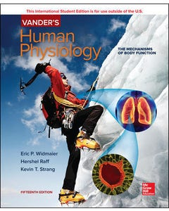 Vander's Human Physiology, 15th edition