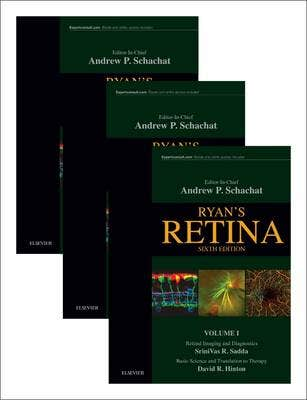 Ryan's Retina, 3-Volume Set, 6th revised edition