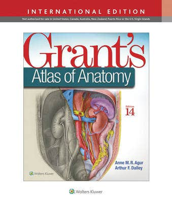 Grant's Atlas of Anatomy,14th revised edition